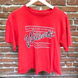 J.Galt Red Wildcats Graphic Tee